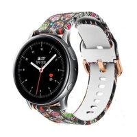 خرید بند سیلیکونی طرح دار ساعت هوشمند سامسونگ گلکسی واچ اکتیو 2