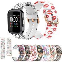 خرید بند سیلیکونی طرح دار ساعت هوشمند شیائومی هایلو LS02