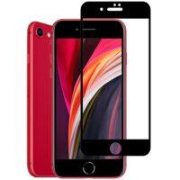 خرید محافظ گلس فول چسب گوشی اپل آیفون SE مدل 2020