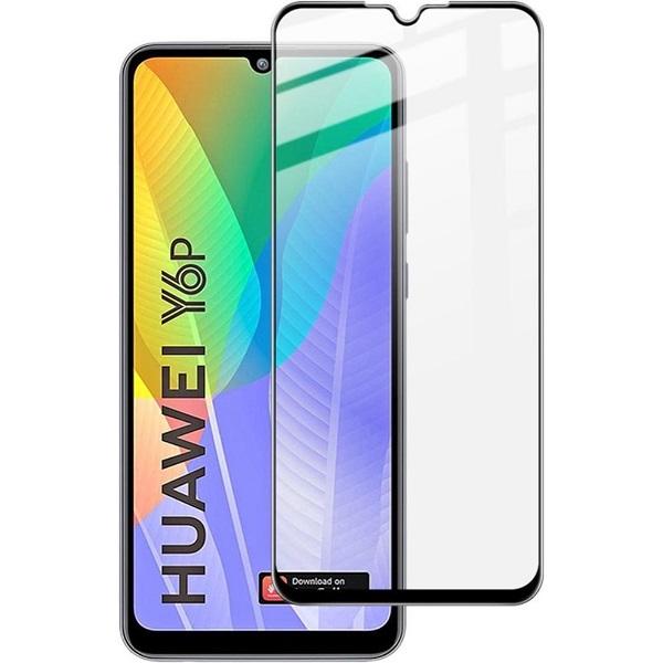 خرید محافظ گلس فول چسب تمام صفحه گوشی هواوی Y6p