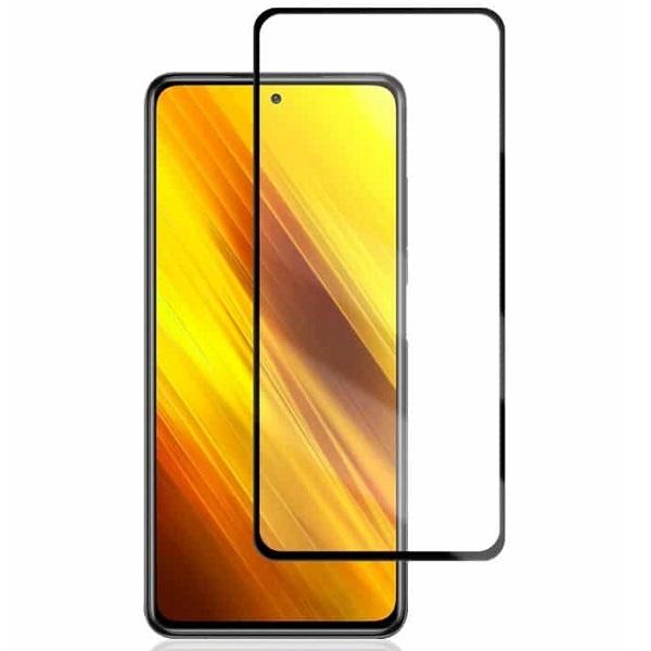 خرید محافظ گلس تمام صفحه گوشی شیائومی پوکو X3 NFC