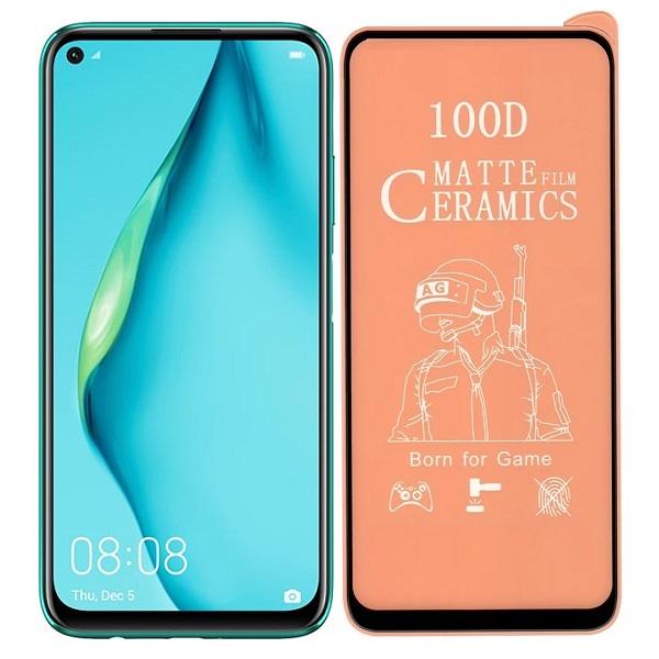 خرید محافظ تمام صفحه سرامیکی مات گوشی هواوی Huawei P40 lite
