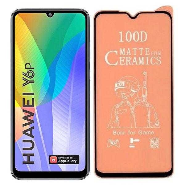 خرید محافظ تمام صفحه سرامیکی مات گوشی هواوی Huawei Y6p