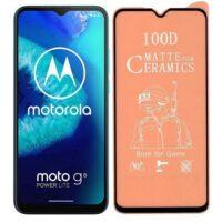 خرید محافظ تمام صفحه سرامیکی مات گوشی موتورولا Motorola Moto G8 Power Lite