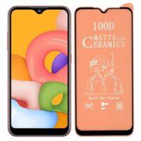خرید محافظ تمام صفحه سرامیکی مات گوشی سامسونگ Samsung Galaxy A01