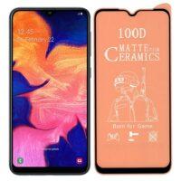 خرید محافظ تمام صفحه سرامیکی مات گوشی سامسونگ Samsung Galaxy A10