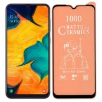 خرید محافظ تمام صفحه سرامیکی مات گوشی سامسونگ Samsung Galaxy A20/A30