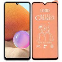 خرید محافظ تمام صفحه سرامیکی مات گوشی سامسونگ Samsung Galaxy A32 4G