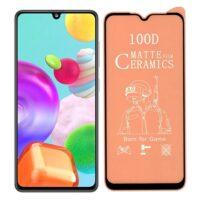 خرید محافظ تمام صفحه سرامیکی مات گوشی سامسونگ Samsung Galaxy A41