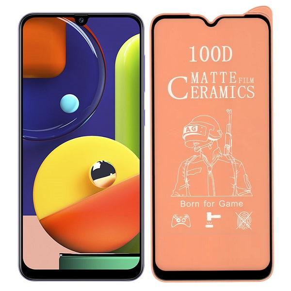 خرید محافظ تمام صفحه سرامیکی مات گوشی سامسونگ Samsung Galaxy A50s/A30s