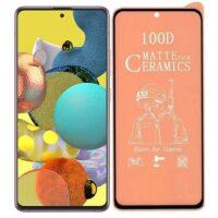 خرید محافظ تمام صفحه سرامیکی مات گوشی سامسونگ Galaxy A51 5G
