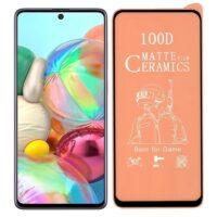 خرید محافظ تمام صفحه سرامیکی مات گوشی سامسونگ Samsung Galaxy A71
