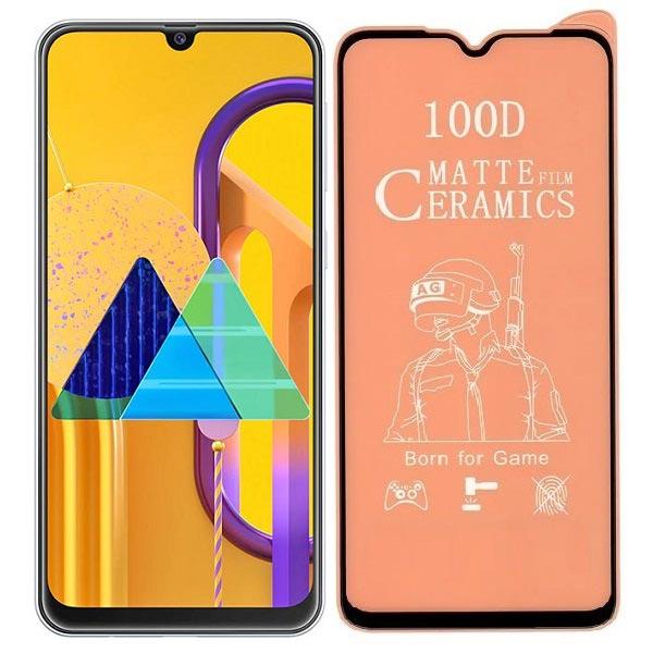 خرید محافظ تمام صفحه سرامیکی مات گوشی سامسونگ Samsung Galaxy M30s