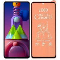 خرید محافظ تمام صفحه سرامیکی مات گوشی سامسونگ Samsung Galaxy M51