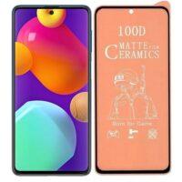 خرید محافظ تمام صفحه سرامیکی مات گوشی سامسونگ Samsung Galaxy M62