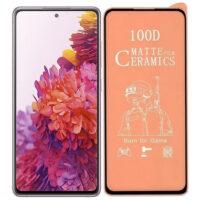 خرید محافظ تمام صفحه سرامیکی مات گوشی سامسونگ Samsung Galaxy S20 FE