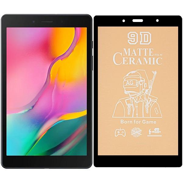 خرید محافظ تمام صفحه سرامیکی مات تبلت سامسونگ Samsung Galaxy TAB A 8.0 2019 LTE SM-T295