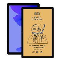 خرید خرید محافظ تمام صفحه سرامیکی مات تبلت سامسونگ Samsung Galaxy Tab A7 10.4 2020