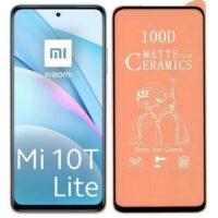 خرید محافظ تمام صفحه سرامیکی مات گوشی شیائومی Xiaomi Mi 10T Lite 5G