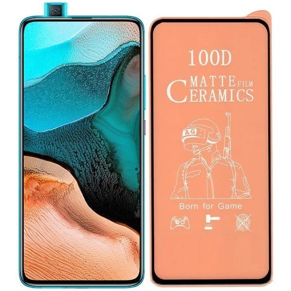 خرید محافظ تمام صفحه سرامیکی مات گوشی شیائومی Xiaomi Poco F2 Pro