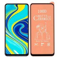 خرید محافظ تمام صفحه سرامیکی مات گوشی شیائومی Xiaomi Redmi Note 9 Pro