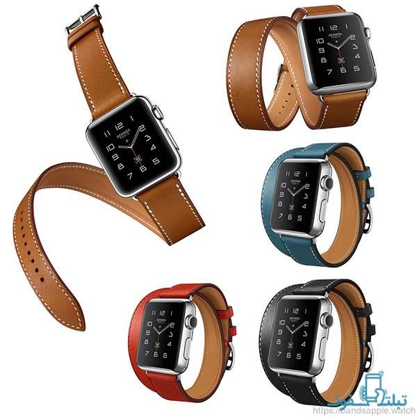 بند چرمی هرمس ساعت هوشمند Apple Watch 38/40mm