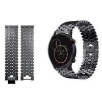 خرید بند استیل ساعت هیلو Xiaomi Haylou RS3 مدل کندویی
