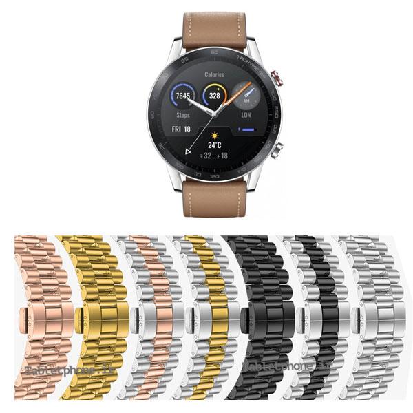 بند ساعت آنر Magic Watch 2 46mm استیل 3Rows