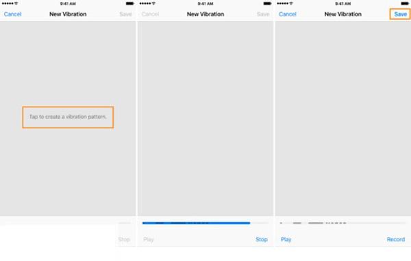 آموزش ساخت ویبره سفارشی در گوشیهای آیفون
