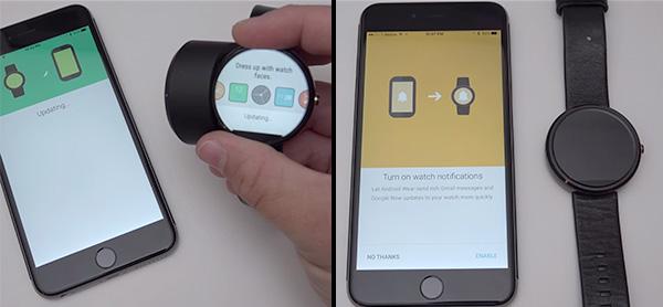آموزش جفت سازی ساعت هوشمند اندرویدی با گوشی اپل آیفون