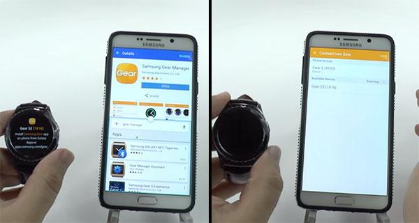 آموزش جفتسازی سامسونگ گیر اس 2 با گوشیهای اندرویدی