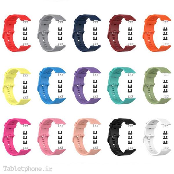 خرید بند سیلیکونی ساعت هوشمند هواوی واچ Huawei Watch Fit