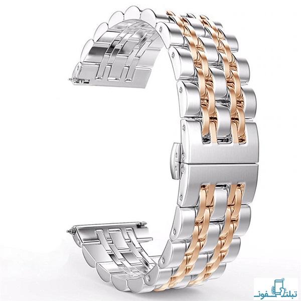 بند استیل رولکسی ساعت هوشمند هواوی واچ GT 2 مدل 46 میلی