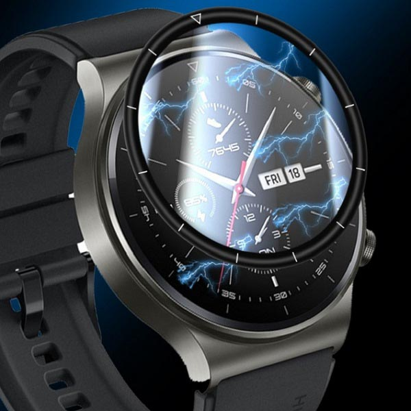 خرید محافظ فول صفحه نمایش ساعت هوشمند هواوی واچ جی تی 2 پرو