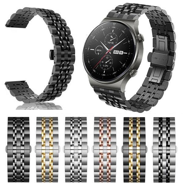خرید بند استیل رولکسی ساعت هوشمند هواوی واچ GT 2 Pro