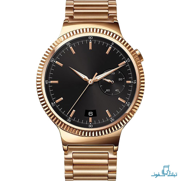 Huawei Watch Steel Case With Gold Link Bracelet-1-Buy-Price-Online