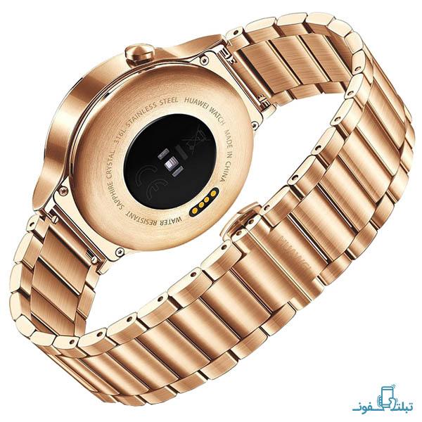 قیمت خرید ساعت هوشمند هوآوي واچ لینک طلايي