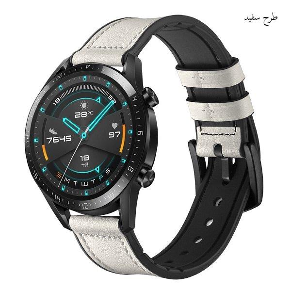 خرید بند چرمی ساعت هوشمند هواوی واچ GT 2 مدل 46 میلی