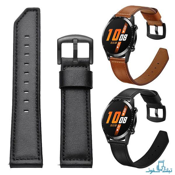 بند چرمی ساعت هوشمند هواوی واچ GT 2 مدل 46 میلی