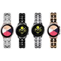 بند سامسونگ Galaxy Watch Active استیل چرمی