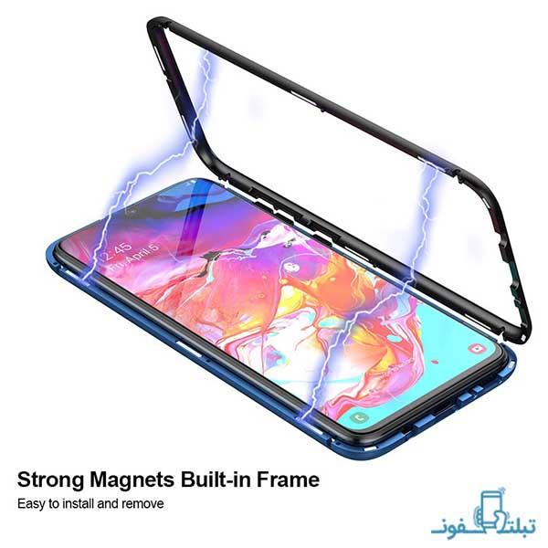 قاب مگنتی پشت شیشه ای برای سامسونگ گلکسی A70