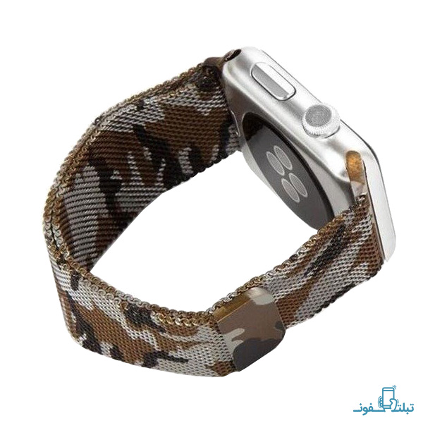 Milanese Army Metal Band For Apple Watch 42mm-1-Buy-Price-Online