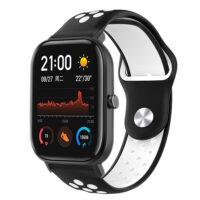 خرید بند سیلیکونی طرح نایک ساعت هوشمند شیائومی Amazfit GTS