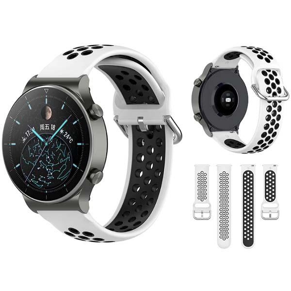 خرید بند سیلیکونی طرح نایک ساعت هوشمند هواوی واچ GT 2 پرو