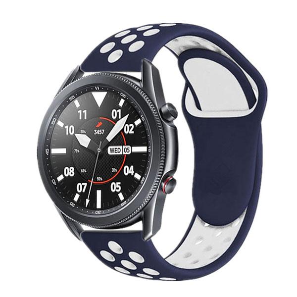 خرید بند سیلیکونی طرح نایک ساعت هوشمند گلکسی واچ 3 مدل 45 میلی