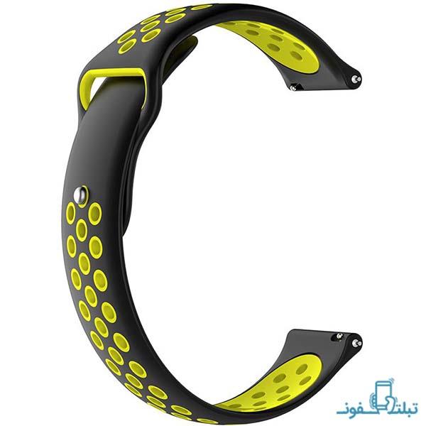 بند سیلیکونی طرح نایک ساعت هوشمند گلکسی واچ 42mm