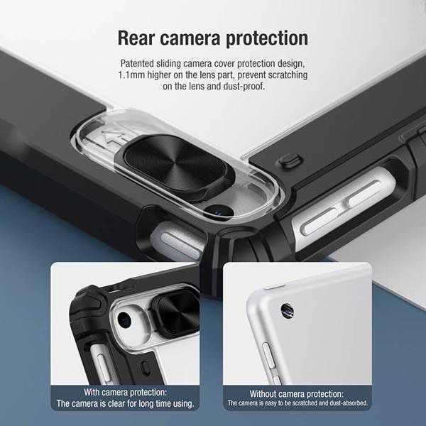 خرید کیف بامپردار نیلکین تبلت اپل iPad 10.2 2019/2020 مدل محافظ دوربین
