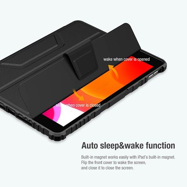 خرید کیف بامپردار نیلکین تبلت اپل iPad 10.2 2021 مدل محافظ دوربین