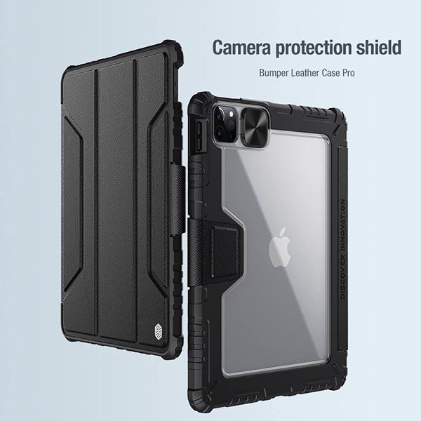 خرید کیف بامپردار نیلکین تبلت اپل iPad Pro 11 2020/2021 مدل محافظ دوربین