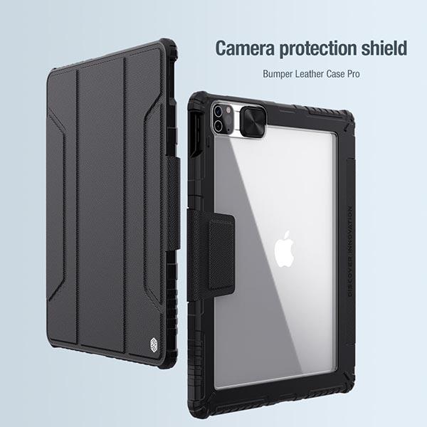 خرید کیف بامپردار نیلکین تبلت اپل iPad Pro 12.9 2020/2021 مدل محافظ دوربین